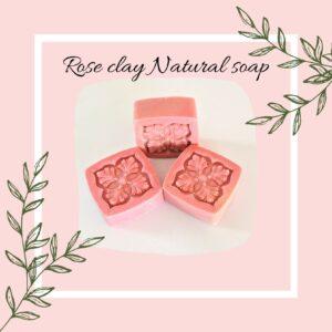 Rose Clay Natural Soap